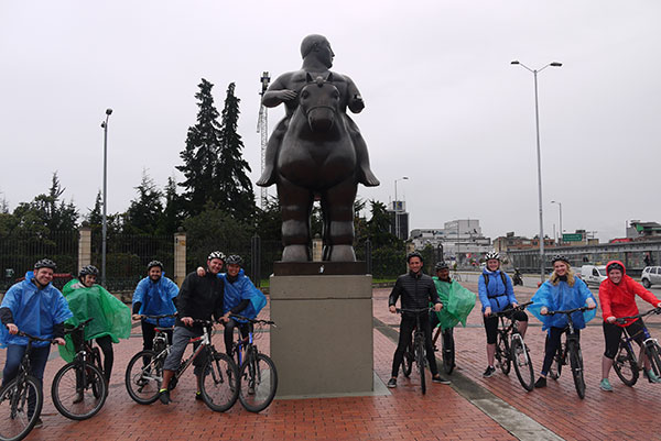Beyond Colombia: Group Tours | Bike Tour in Bogotá